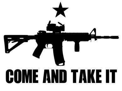 50pcs-lot-Huge-COME-AND-TAKE-IT-AR-15-gun-flag-Texas-Vinyl-Decal-Bumper-Sticker